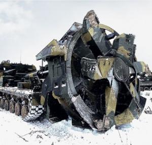 Россия изобрела нового механического монстра (видео)